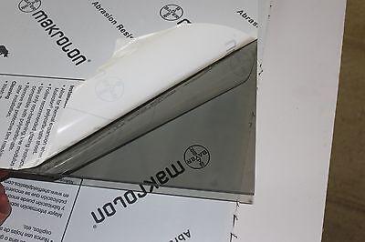 Makrolon Ar2-mr10 Lexan Gray Polycarbonate Sheet 14 X 12 X 62