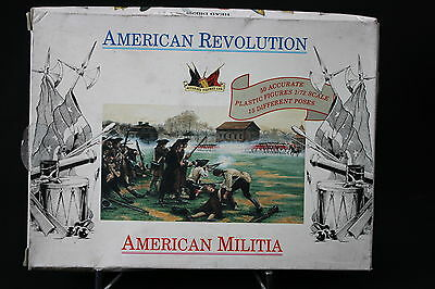 XJ134 ACCURATE FIGURES 1/72 figurine 7201 AMERICAN REVOLUTION American militia