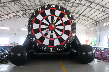 Inflatable dart board hire
