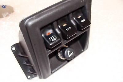 Fits Jeep XJ Cherokee 1997 1998 1999 2000 Rocker Switch Kit segunda mano  Embacar hacia Mexico