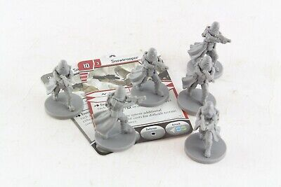 Star Wars Miniatures Snowtrooper x 6 Imperial Assault Group Hoth Set