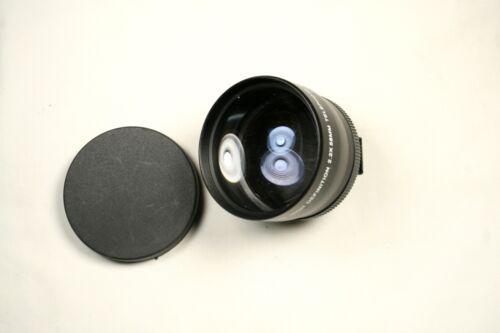 Digital Concepts High Definition 2.2X AUX Telephoto Lens Converter 58mm