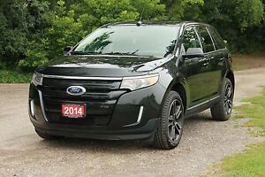 2014 Ford Edge SEL | NAVIGATION + Leather + Sunroof