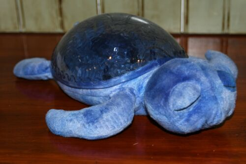 Cloud B Tranquil Turtle Plush Ocean Wave Projection Sound Machine Night Light