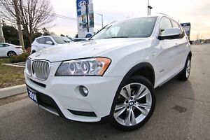 2014 BMW X3 35i XDRIVE NAVIGATION POWER LIFTGATE AND MORE!