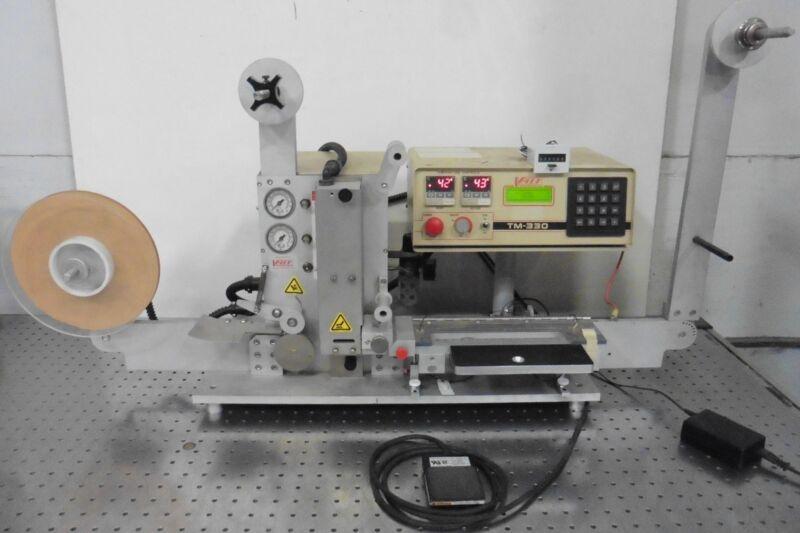 G176980 V-Tek TM-330 Automated Tape & Reel Machine