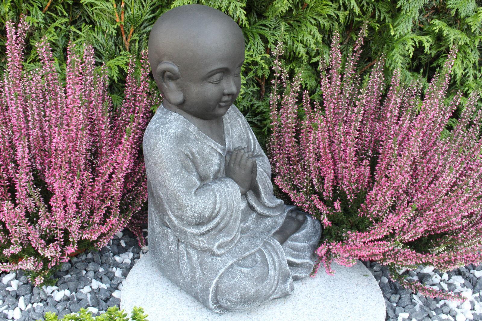steinfigur buddha m nch feng shui gartenfigur gartendeko