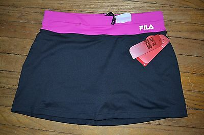 Fila Sport TruDry Skort Athletic Shorts with Skirt Performance Gear Workout Sz M