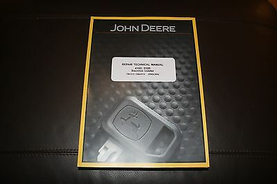 John Deere 410d 510d Backhoe Loader Repair Service Manual Tm1513