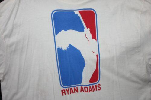 Ryan Adams XXL Concert T Shirt NBA Style Logo