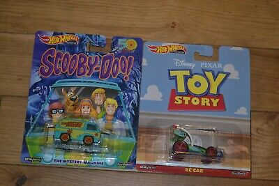 2019 Hot Wheels Premium Toy Story- RC Car, Scooby-Doo The Mystery Machine, VHTF