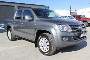 2012 Volkswagen Amarok Dual Cab 4x4 Highline TDI 4 Motion Mowbray Launceston Area Preview