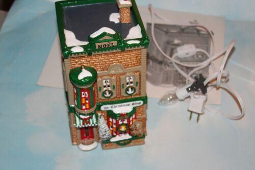 Dept 56 The Original Snow Village - 1991 THE CHRISTMAS SHOP 50970 Retired 1996