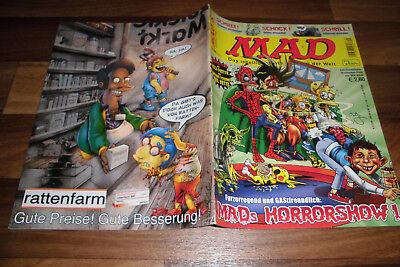 MAD 049 -- HORRORSHOW mit POSTER von PHIL ORTIZ//SIMPSONS/Halloween Lindenstraße