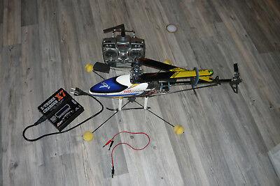 Helikopter TREX 450 Sport 3D incl. Fernbedienung und Ladegerät (450 3d Hubschrauber)
