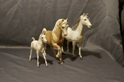 3 Vintage Breyer Horses Unknown Names or Types All Marked