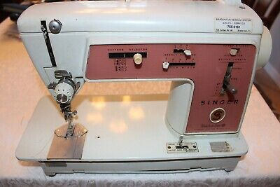 Singer Sewing Machine Touch & Sew Special Zig-Zag Model 626