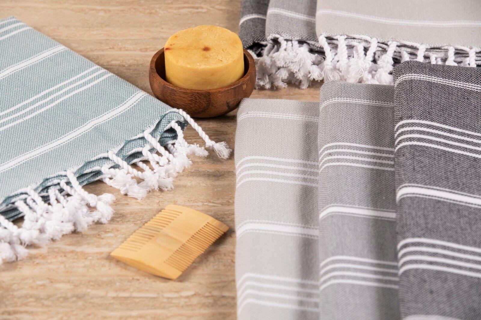 100% COTTON TURKISH BEACH TOWEL 39x69 BLANKET SARONG THROW