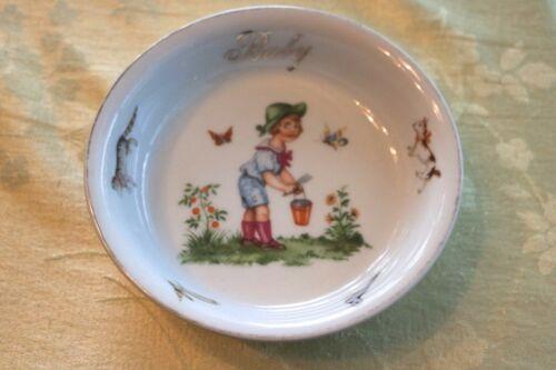 Germany Porcelain Baby Child Dish Bowl