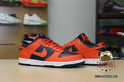 2004 Nike Dunk Low Syracuse size 9 w/ Box vnds college orange | TRUSTED SELLER!