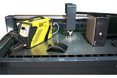 Plasmaschneidanlage, Abtast und THC Höhenkontrolle,  Sonderformat 1000 x 1000mm