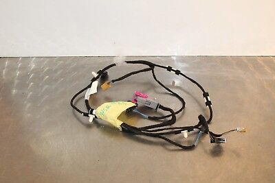 2006 AUDI A3 8P PASSENGER SIDE REAR DOOR CARD WIRING LOOM 8P4971693P (A3.3)
