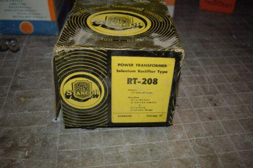 VINTAGE NOS STANCOR RT-208 SELINIUM RECTIFIER POWER TRANSFORMER TUBE AMP TONE