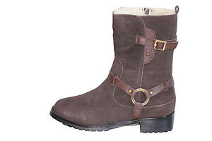 Australian-Sheepskin-Fashion-Ugg-Boots-Colour-Chocolate-Size-5-Ladys