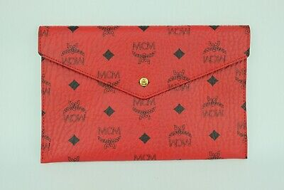 100% Authentic MCM Red Visetos NOT FOR SALE Pouch
