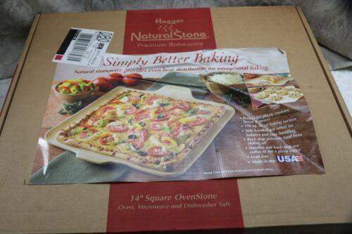 "Haeger Natural Stone Premium Bakeware 14"" Square Oven Stone"