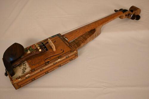 Cigar Box Violin Made by Steven Miller Carolina Fiddle Admiration