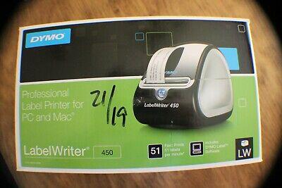 Dymo Labelwriter 450 Turbo Thermal Label Printer Inkless Barcode Shipping Pc Mac