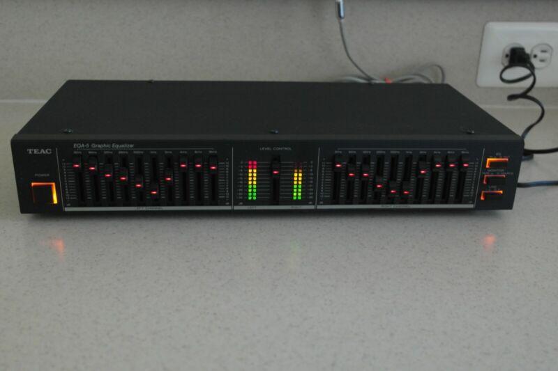 TEAC EQA-5 Graphic Equalizer Vintage Pro Audio