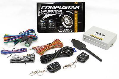 Compustar Car Auto Remote Start Starter w Keyless Entry & Bypass Module Bundle
