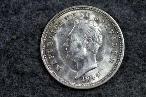 1944 - El Salvador 25 Centavos!!  #J06233
