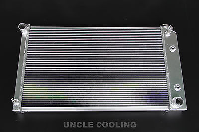 3 ROWS ALL ALUMINUM RADIATOR FOR CHEVY CAPRICE C10 C20 MANY GM CARS 1970 90