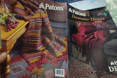 Шаблоны Paton's Knitting Book 598 Decorator