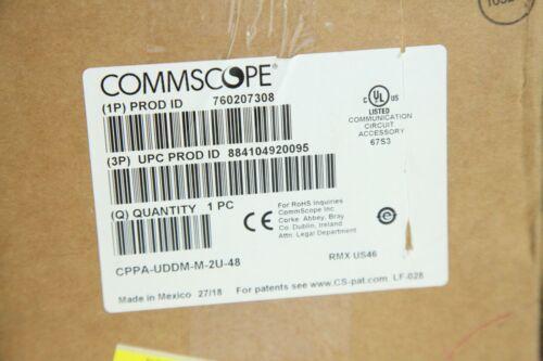 Commscope 760207308 CPPA-UDDM-M-2U-48 Angled Discrete Distribution Module Patch