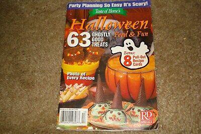 Taste of Home Recipe Booklet - Halloween Food & Fun - October 2003