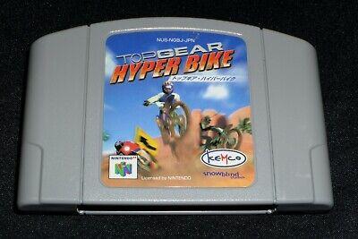 Top Gear Hyper Bike - Nintendo 64 N64 Japan Import