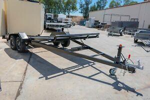 16x6 Gas Strut Tilt Car Trailer 2800kg ATM Pooraka Salisbury Area Preview