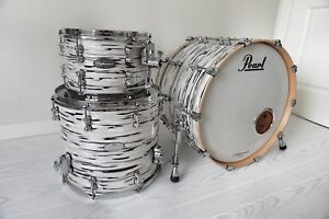 Pearl Reference Pure Drums Music City Custom Series Like New!