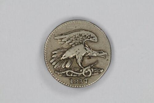 1837 FEUCHTWANGER CENT TOKEN COMPOSITION F FINE / VF VERY FINE (1594)