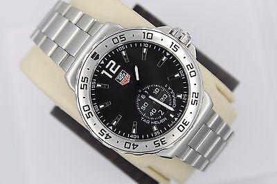 Tag Heuer NEW WAU1112.BA0858 Black Formula One F1 Watch Mens Chronograph BOX