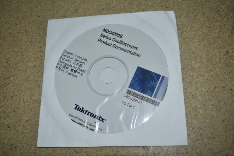 <CHV> TEKTRONIX MD04000B PRODUCT DOCUMATION CD  063-4508-01  (PD8)