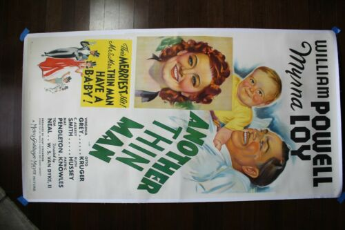 Another Thin Man (1939) US Three Sheet Movie Poster LB