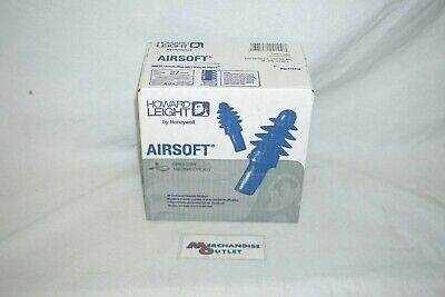 Howard Leight Airsoft Reusable Earplugs With Cord - 100 Pairs