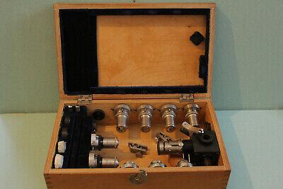 Lomo Microscope Polarising Petrographic Set Objectives Reflected Light Opi