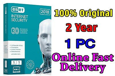Eset Internet Security 2019 Original 2Year 1Pc License Key Fast Delivery
