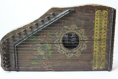 kleine Zither Guitar Zither um die Jahrhundertende